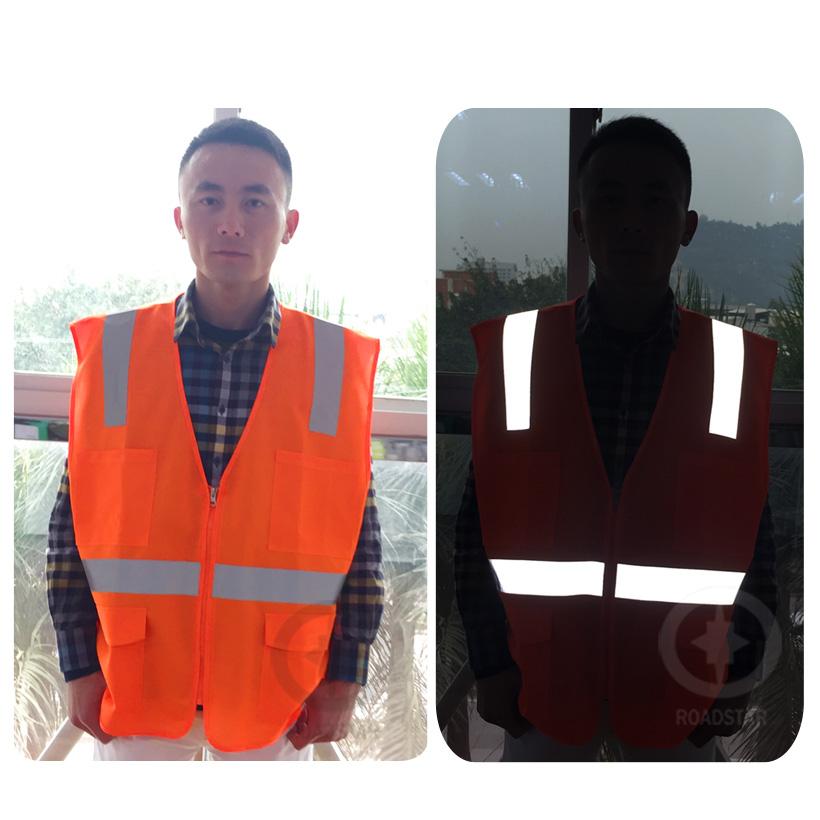 Светоотражающие верховой езды куртка трафика для жилет безопасности бесплатная доставка