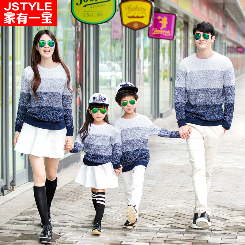 Family Set Clothes For Mother And Daughter Son Cotton Family Matching Outfit Clothing Sweater Family Fashion Clothes<br><br>Aliexpress