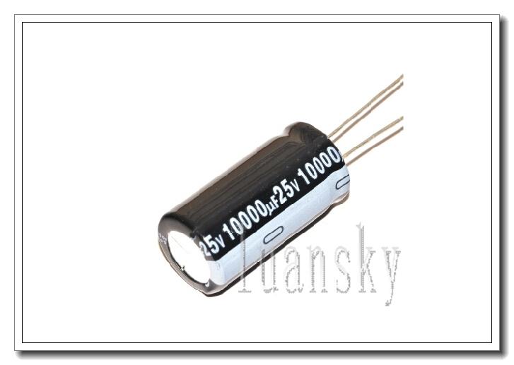 25V 10000UF 18*35MM Aluminum Electrolytic Capacitors 1 - luna sky store