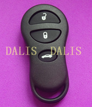 5pcs/lot HIgh quality case for Chrysler 3 button remote key shell