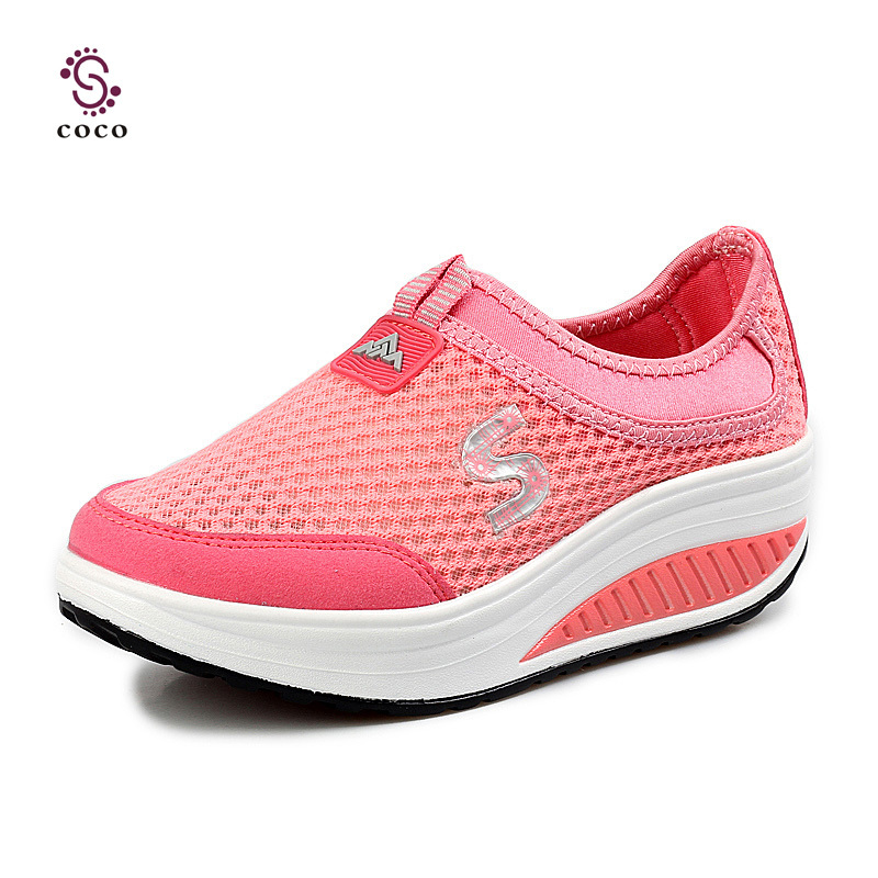 Fashion Summer style Refreshing breathable Women Sneakers super light Running Shoes Sports Shoes Fitness shoes platform shoes(China (Mainland))