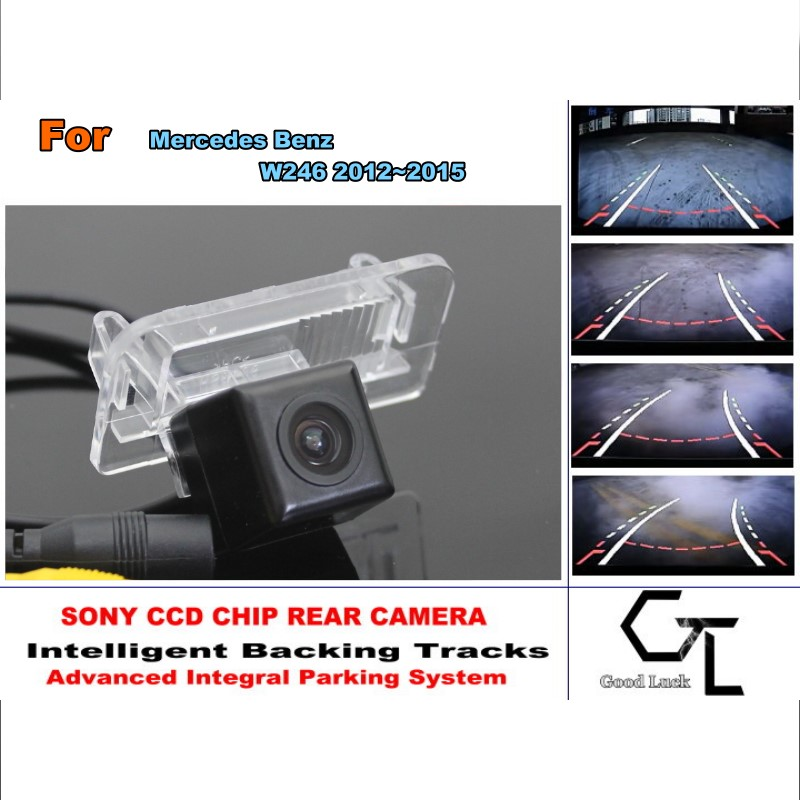 CCD  For Mercedes Benz B Class W246 2012~2015 Reverse Car camera HD Night Vision Parking Assistance Tracks Module<br><br>Aliexpress