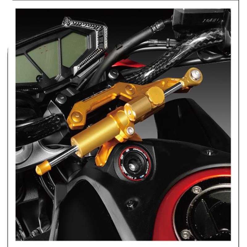 Мотоциклов рулевой демпфер стенты для Kawasaki Z800 2013 - 2015 6