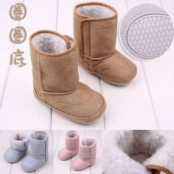 Fashion winter 1 pair cotton-padded Boots Baby boy First Walkers, Fashion Warm Infant/Toddle soft shoes,Super Quality Boots