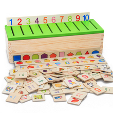Montessori Educational Wooden Game Recognition Toy Baby Kids Early Learning Classification Box Toys for Children Fast Shipping(China (Mainland))