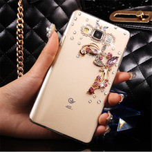 Buy 3D flower bow bling Crystal Cell Phone Shell back cover hard case Samsung Galaxy Grand Prime Duos G530 SM-G530H G5308W G530W for $3.49 in AliExpress store