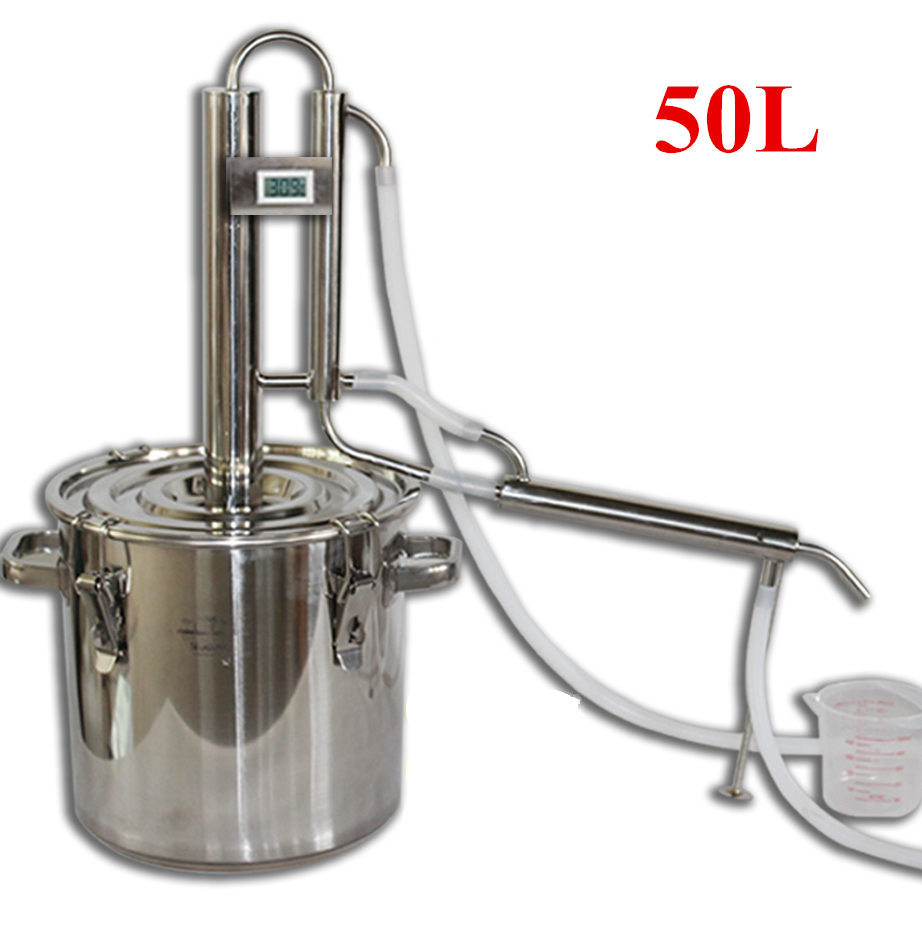 Megahome Countertop Water Distiller Stainless Glass
