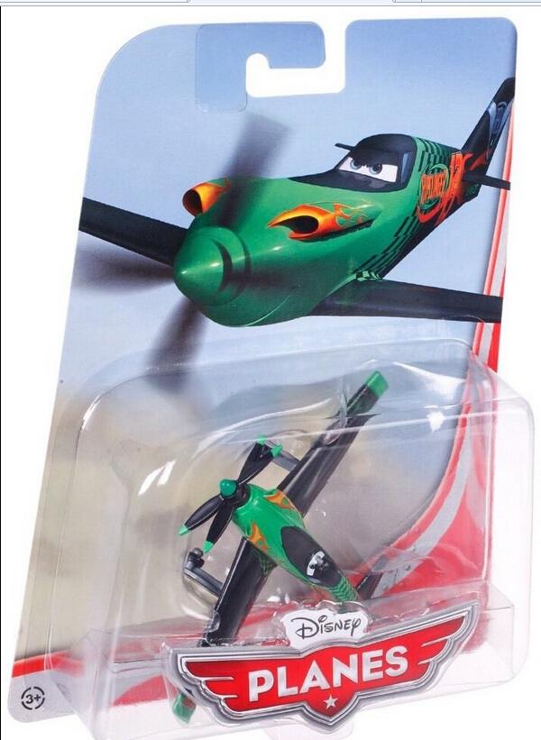 100% Original Pixar Planes No.13 Ripslinger Metal Diecast Plane Toy 1:55 Loose New In box(China (Mainland))