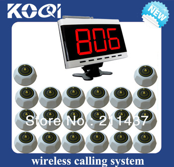 Hospital information system radio the nurse of 1 nurse panel for nurse station and 20 nurse call button DHL free shipping free