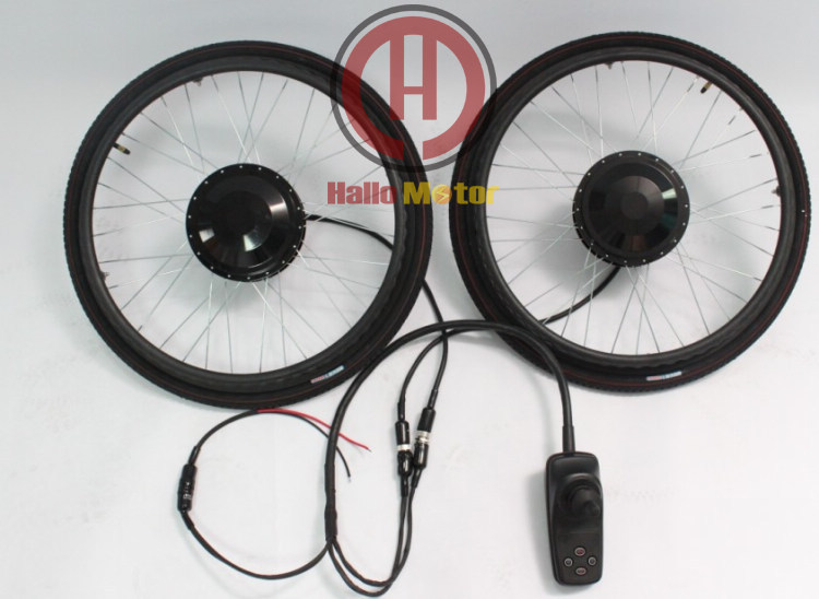 Hot Sale 24V 180W 24 Brushless Electric Wheelchair Conversion Kits with Electric Magnet Braking<br>