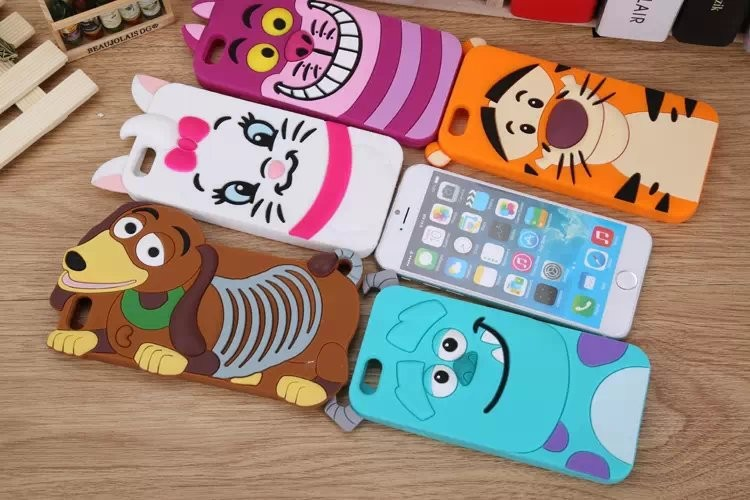 Здесь можно купить  Free DHL EMS new arrival tiger Monsters Inc. Sulley Marie Alice Cat slinky dog silicone rubber cases covers for iphone 6 4.7 Free DHL EMS new arrival tiger Monsters Inc. Sulley Marie Alice Cat slinky dog silicone rubber cases covers for iphone 6 4.7 Телефоны и Телекоммуникации