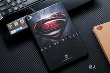 For Apple iPad mini 4 Case Cover Slim Tablet Protector Covers For iPad Mini4 Capa Silicon Capa Funda, American captain, Superman(China (Mainland))