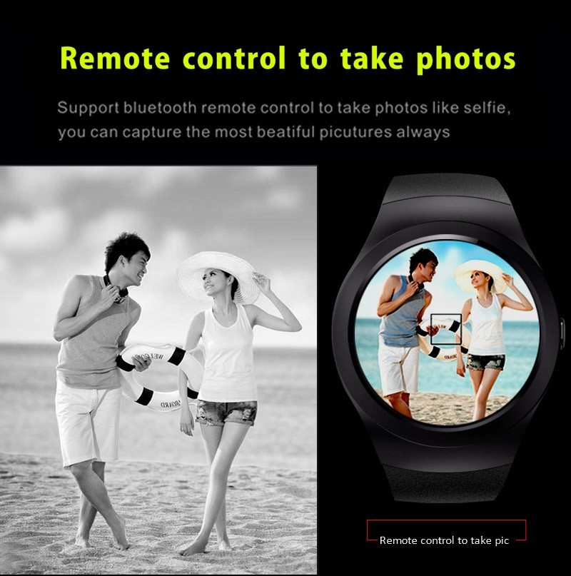 Newest ! KS2 Smart watch 1.3inch Fully Round SD SIM Card smartwatch BT4.0+EDR3.0 Watches For Apple IOS Android reloj inteligente