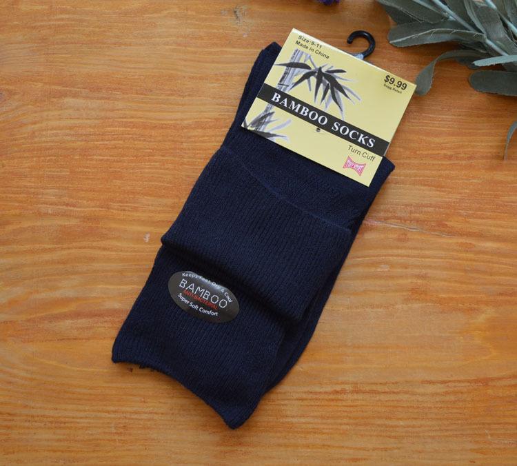 Diabetes Hypertension Special Socks Bamboo Fiber Relent Socks to Prevent Varicose Veins Men s Socks Causal