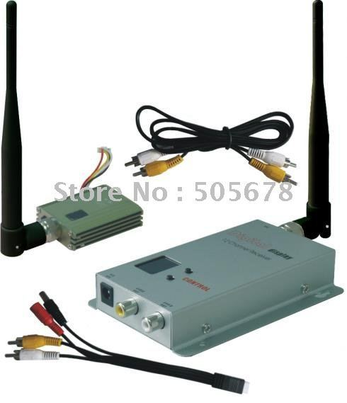 400mW 900 MHz Video Transmitter and Receiver Kit