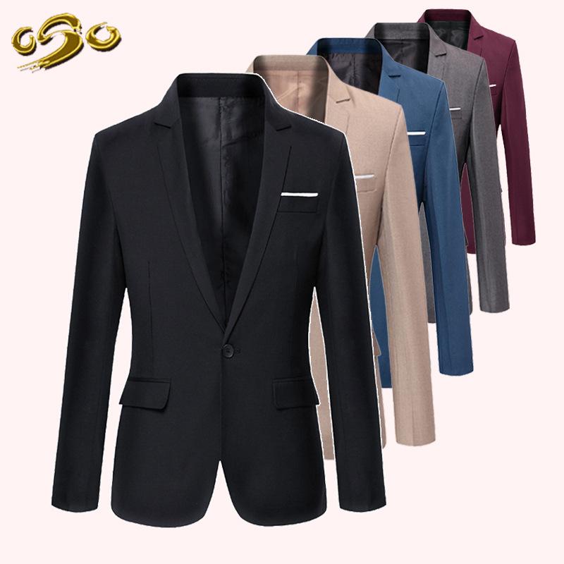2016 New Style Spring Summer Casual Blazer font b Men b font Slim Fit XXXL Costume