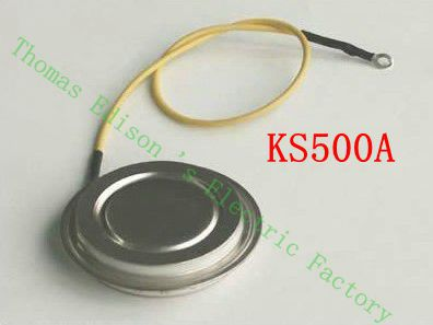 KS500A Concave plate metal bidirectionThyristor high quality SCR rectifier Scr thyristor<br><br>Aliexpress
