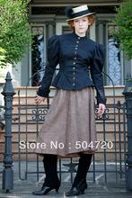 1890s Victorian Corset Gothic/Civil War Southern Belle Ball Gown Dress Halloween dresses Sz US 6-26 XS-6XL V-1177