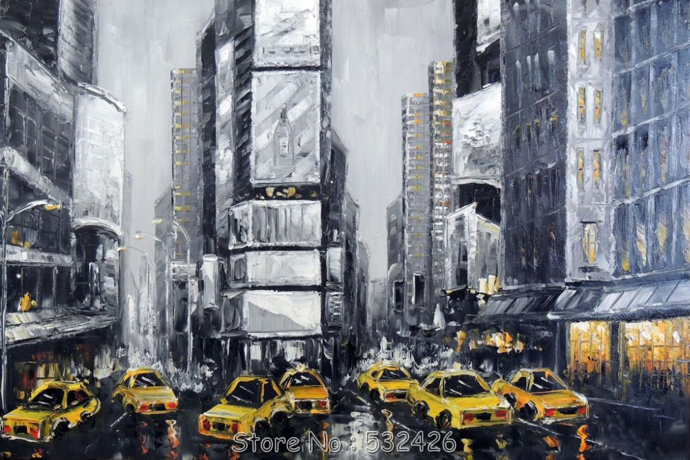 times square black white new york city manhattan