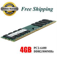 Neue ram ddr2 4 GB 800 MHz PC2-6400 Für Desktop PC DIMM Speicher RAM 240 Pins für AMD System kompatibel(China (Mainland))
