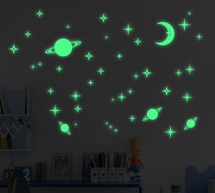 Как сделать светящиеся звезды на потолке своими руками