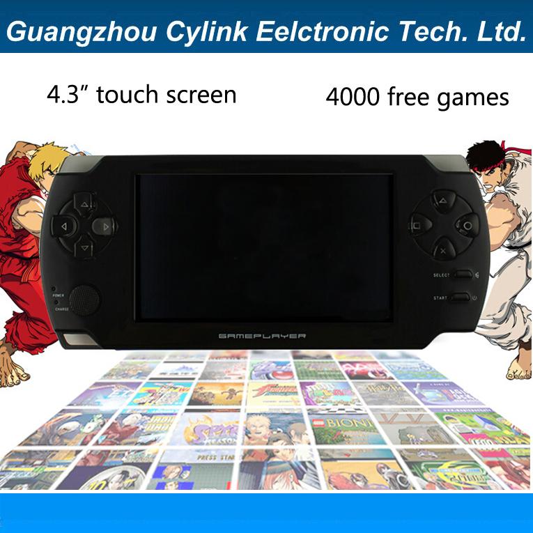 Портативная игровая консоль Cylink 4,3/bulit PMP TV vedio 4000 MP3 MP4 MP5 X8 портативная игровая консоль 20 4 4 3 pmp bulit fm tv