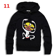 2015 Autumn men's DSQ brand letters cartton  funny monkey printed hoodies D2 sweatshirts outerwear many colors Free shipping!!!