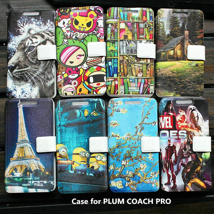 Universal leather phone Case for PLUM COACH PRO case cover(China (Mainland))