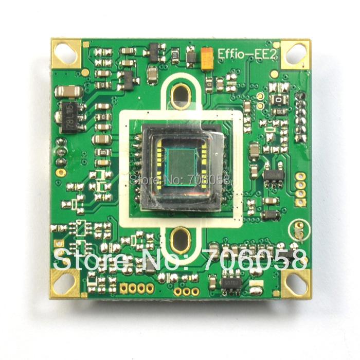 "Гаджет  Surveillance Cameras Cchip Board Effio-e: 4140+673 700TVL 1/3 ""Sony CCD Board CCTV Board With OSD None Безопасность и защита"