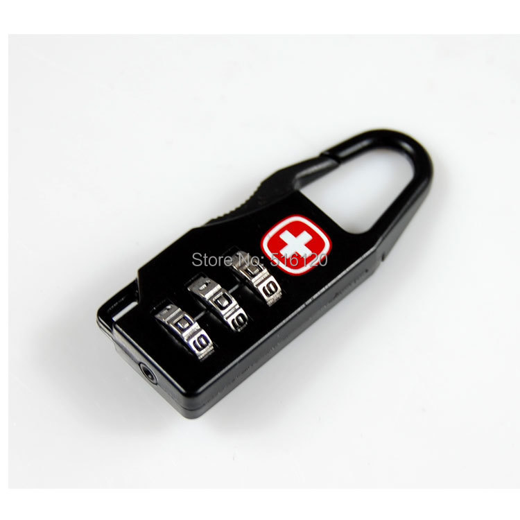 (5 pcs/lot) Alloy Mini Padlocks Travel Luggage Zipper Bag Handbag Code Digital Pad Lock Cabinet Suitcase Backpack Padlock(China (Mainland))