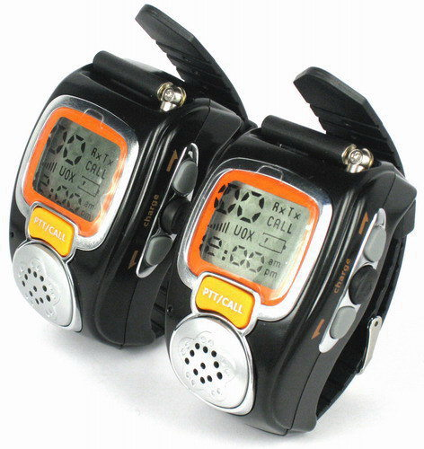 Backlit Walkie Talkie Digital Watch + VOX Operation(China (Mainland))