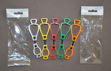 wholesale 128*32mm metal detectable plastic Glove Clip protective Holder safety work gloves Guard 100pcs(China (Mainland))