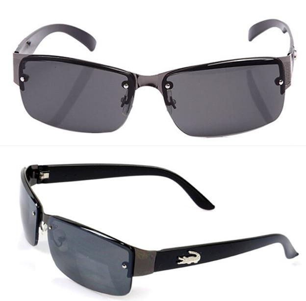 New 2014 fashion sport sunglasses men brand outdoors driving sun glasses for men crocodile oculos de sol G254 free shipping(China (Mainland))