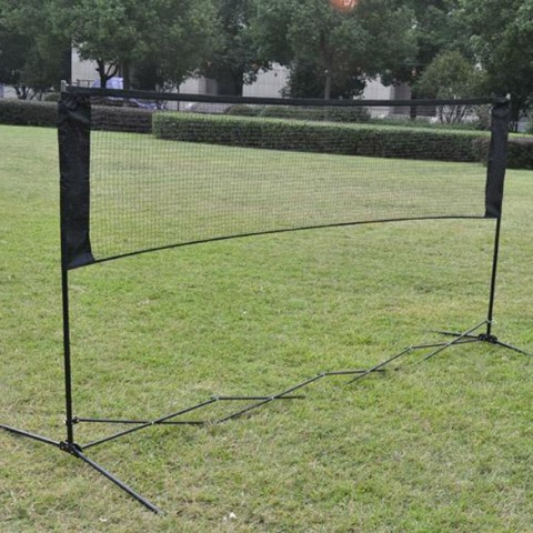 Free Shipping New Professional Training Square Mesh Standard Badminton Net #gib(China (Mainland))