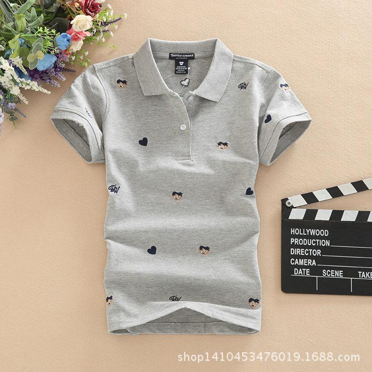 Women Polo Shirts woman brand polo femme Cotton bosco sport Short sleeve camiseta polo feminine Plus Size Slim clothes polo 50