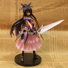 Wholesale/Retail Fashion Free Shipping FS Anime Taito Date A Live Tohka Yatogami 17cm/6.7″ PVC Action Figure New in Box toys