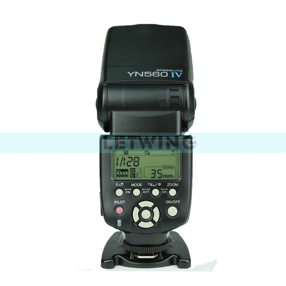 Yongnuo YN-560 IV Flash Speedlite Unit with Built-in Trigger System for DSLR Cameras(China (Mainland))