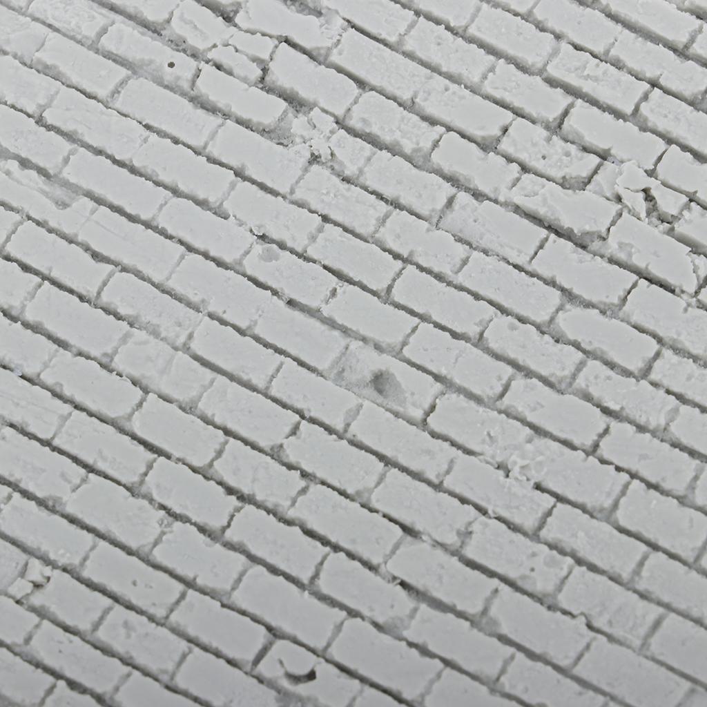 1/35 Resin Garage Model Kit Wall Unpainted Miniature Street Scenery Layout