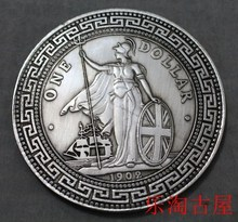 CHINA ZHANGYANG 1 DOLLAR SILVER COIN 10 YUAN old Chinese culture Free Shipping(China (Mainland))