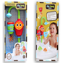 1 Piece Electronic Bath Toys  Play Taps Toy Buttressed Music Spray Shower Spray Water Hot Sale Water Bathroom Children Toys(China (Mainland))