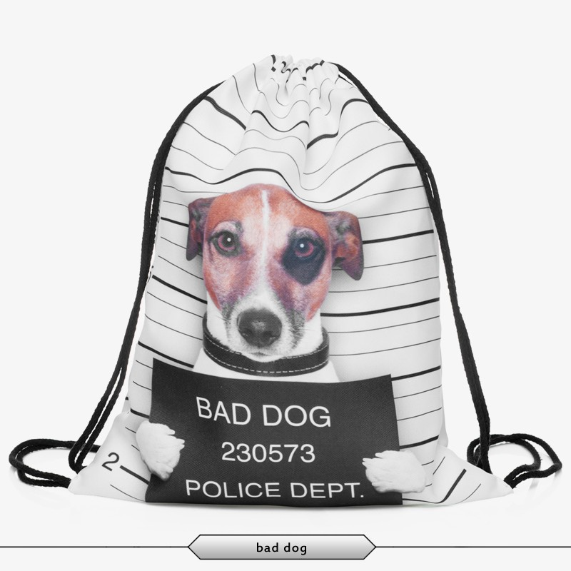 2015 new fashion escolar backpack wonmen mochila feminina harajuku drawstring bag unisex backpacks print travel softback <br><br>Aliexpress