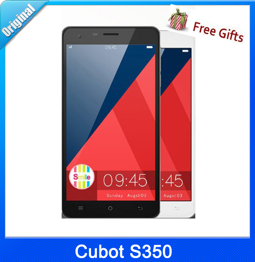 16GB Original CUBOT S350 5.5'' IPS Android OS 4.4 Smart Phone, MTK6582 Cortex A7 Quad Core 1.3GHz,2GB RAM, WiFi, GPS,GSM & WCDMA