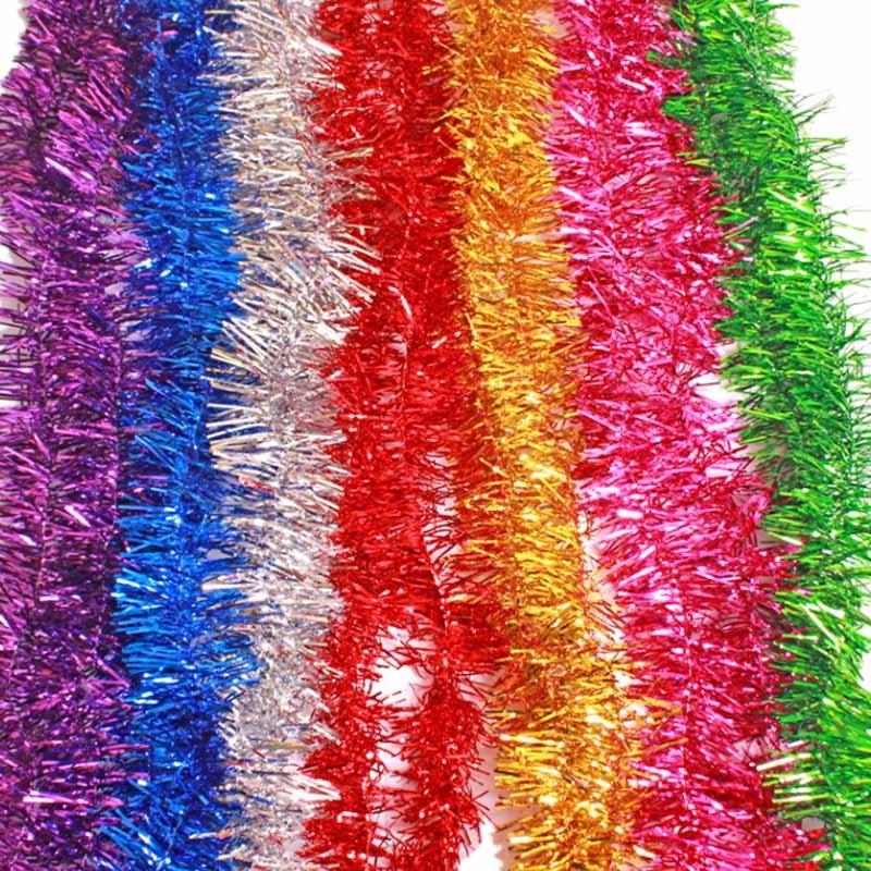 Christmas Tinsel Garland Wholesale
