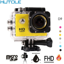 Full HD 1080P Sport Digital Photo Cameras Underwater Waterproof Camera Extreme Helmet Action Cam 2inch Screen Mini FPV Camcorder(China (Mainland))