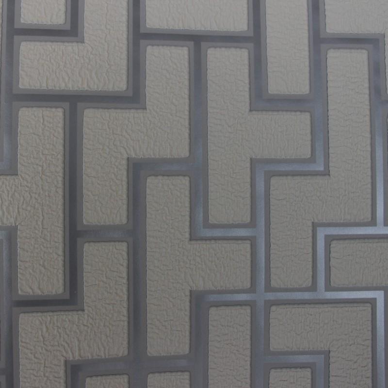 Ziegel Tapete Wohnzimmer : Wildleder Moderne 3D Ziegel Off White Schaum Dicken Gepr?gt Vinyl