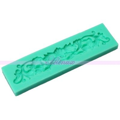 Hot sell3pcs/lot Wholsale New Arrival 3D Flower Grass Silicone Mold Fondant Cake Decor Polymer Clay Craft bakeware DIY(China (Mainland))