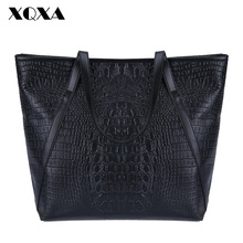 Black Casual Women Shoulder Bags PU Leather Female Big Tote Bags for Ladies Handbag Large Capacity sac a main femme de marque(China (Mainland))