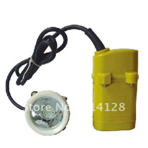KL4LM(A) LED Mining Light Begin Lighting 3000 Lx With professional li-ion battery charger free shipping(China (Mainland))