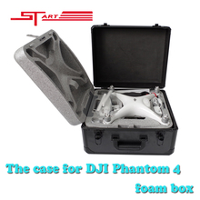 3Pcs/lot DJI Phantom 4 RC Drone Outdoor Protection Case Handle Protect Case for RC Quadcopter DJI Phantom 4 Foam Box Fast Ship