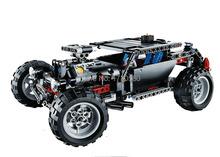 Decool 3340 Technic Transport Hummer SUV Building Block Sets Model Educational DIY Bricks Toys For Children(China (Mainland))